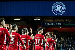 Callum O'Dowda of Bristol City and his teammates walk out - Rogan Thomson/JMP - 18/10/2016 - FOOTBALL - Loftus Road Stadium - London, England - Queens Park Rangers v Bristol City - Sky Bet EFL Championship.