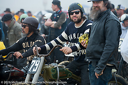 Grant Peterson of Born Free at TROG West - The Race of Gentlemen. Pismo Beach, CA, USA. Saturday October 15, 2016. Photography ©2016 Michael Lichter.