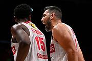 Scola Luis of Openjobmetis Varese <br /> A X Armani Exchange Olimpia Milano - Varese<br /> Basket Serie A LBA 2020/2021<br /> Milano 05 April 2021<br /> Foto Mattia Ozbot / Ciamillo-Castoria