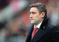 Bristol City manager Lee Johnson <br /> <br /> Photographer Ashley Crowden/CameraSport<br /> <br /> Emirates FA Cup Third Round - Bristol City v Fleetwood Town - Saturday 7th January 2017 - Ashton Gate - Bristol<br />  <br /> World Copyright © 2017 CameraSport. All rights reserved. 43 Linden Ave. Countesthorpe. Leicester. England. LE8 5PG - Tel: +44 (0) 116 277 4147 - admin@camerasport.com - www.camerasport.com