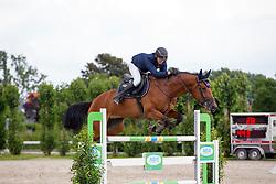 Kooremans Raf, (BEL), Kiana van het Herdershof<br /> Nationale finale SBB competitie voor jonge paarden <br /> 6 jarige springpaarden - Moorsele 2016<br /> © Hippo Foto - Dirk Caremans<br /> 26/06/16