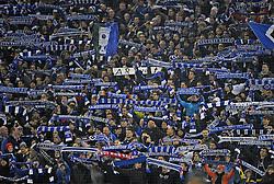 Football: Germany, DFB-Pokal, Hamburger SV, Muenchen, 12.02.2014<br /> Fans<br /> ©pixathlon