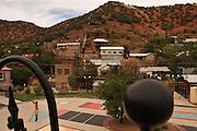 The city park in Bisbee, Arizona, USA.