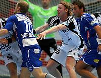 Håndball , 8. oktober 2008 , Champions League , Drammen HK - Kiel<br /> Handball<br /> Børge Lund , Börge Lund , Kiel