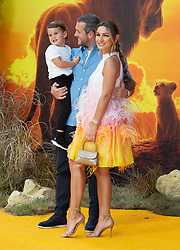 Sam Faiers attends the London premiere of The Lion King.<br />