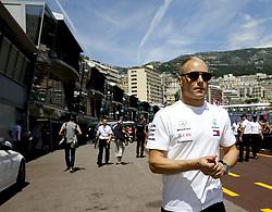 May 23, 2018 - Monte Carlo, Monaco - VALTTERI BOTTAS (FIN) team Mercedes AMG Petronas Motorsport walks to press meeting during FIA Formula One World Championship 2018, Grand Prix of Monaco. (Credit Image: © Hoch Zwei via ZUMA Wire)