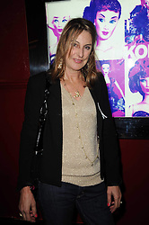 KATE SIMON at a party and fashion show to celebrate the 40th anniversary of Butler & Wilson held at Koko, 1 Camden High Street, London NW1 on 12th November 2009.