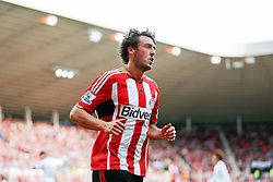 Will Buckley of Sunderland looks on - Photo mandatory by-line: Rogan Thomson/JMP - 07966 386802 - 27/08/2014 - SPORT - FOOTBALL - Sunderland, England - Stadium of Light - Sunderland v Swansea City - Barclays Premier League.