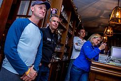 10-09-2017 FRA: BvdGF Tour du Mont Blanc day 1, Beaufort <br /> Vandaag vertrekken we vanuit Papendal in Arnhem naar naar het plaatsje Beaufort (nabij Chamonix) in Frankrijk / John, Marco, Petra