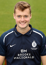 Middlesex's Tom Helm during the media day at Lord's Cricket Ground, London.