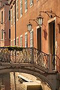 Street view, Castello District, Venice, Italy, Europe