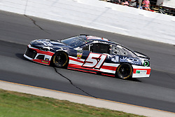 July 21, 2018 - Loudon, NH, U.S. - LOUDON, NH - JULY 21: BJ McLeod, driver of the #51 Prefund Capital Chevy during practice for the Monster Energy Cup Series Foxwoods Resort Casino 301 race on July, 21, 2018, at New Hampshire Motor Speedway in Loudon, NH. (Photo by Malcolm Hope/Icon Sportswire) (Credit Image: © Malcolm Hope/Icon SMI via ZUMA Press)