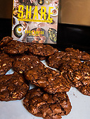 Chef Chris Santos' Reverse chocolate chip cookies