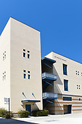 The Art Culture and Technology Building on the Campus of the University of California Irvine