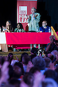 Ken Livingstone was one of the speakers - Jeremy Corbyn holds a campaign meeting as part of his Labour Party leadership challenge at the Camden Town Hall, London, UK 03 Aug 2015