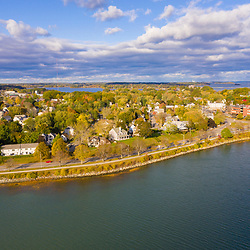 Back Cove and Portland, Maine.