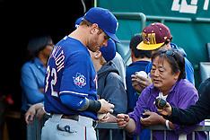 20120717 - Texas Rangers at Oakland Athletics