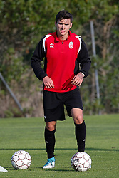January 6, 2018 - Cadiz, SPAIN - Mouscron's Dorin Rotariu pictured during the first day of the winter training camp of Belgian first division soccer team Royal Excel Mouscron, in Cadiz, Spain, Saturday 06 January 2018. BELGA PHOTO BRUNO FAHY (Credit Image: © Bruno Fahy/Belga via ZUMA Press)