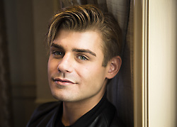 October 7, 2016 - Hollywood, California, U.S. - Garrett Clayton stars in the Movie King Cobra (Credit Image: © Armando Gallo/Arga Images via ZUMA Studio)