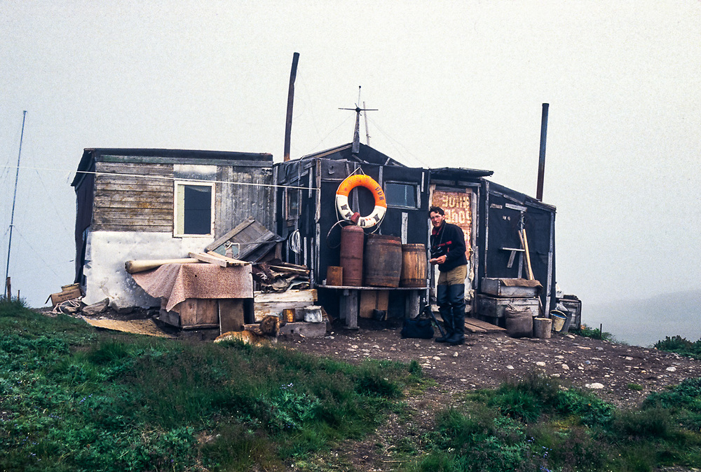 Afanassi Makovnev, ecotourism guide, Arakamchechen Island, Senyavina Strait, Bering Sea, Chukotka, Northeast Russia