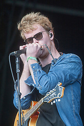 Kodaline play the main stage, Sunday, T in the Park 2014.<br /> © Michael Schofield.