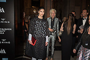 Alexander McQueen: Savage Beauty Gala, Victoria and Albert Museum, and A. 12th March 2015