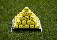 's Gravenwezel -  Antwerp International Golf & Country Club Rinkven . Drivin range . EY, oefenballen, golfballen, practice, oefenen, COPYRIGHT KOEN SUYK