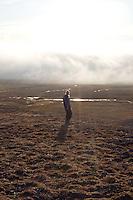 Girl at Svalbard