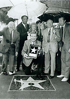 1986 Chick Hearn's Walk of Fame ceremony