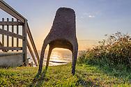 Julian Schnabel Chair, Coastline, 406 Old Montauk Hwy, Montauk,  New York