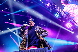 LOS ANGELES, CA - JAN 24: Canadian singer, songwriter, and record producer Justin Bieber performs onstage during Calibash 2016 held at Staples Center on January 24, 2016 in Los Angeles, California. CALIBASH 2016, hosted by KXOL Mega 96.3FM, La Musica and produced by AEG Live and Latin Events. Byline, credit, TV usage, web usage or linkback must read SILVEXPHOTO.COM. Failure to byline correctly will incur double the agreed f
