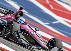 March 22, 2019 - Austin, Texas, U.S. - Jack Harvey (60) of England  goes through the turns during practice for the INDYCAR Classic at Circuit Of The Americas in Austin, Texas. (Credit Image: © Walter G Arce Sr Asp Inc/ASP)