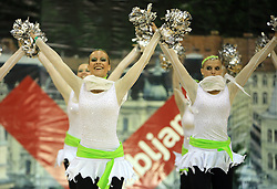 Angels, Slovenia at European Cheerleading Championship 2008, on July 5, 2008, in Arena Tivoli, Ljubljana, Slovenia. (Photo by Vid Ponikvar / Sportal Images).