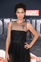 Actress Elodie Yung the 'Marvel's The Defenders' New York Premiere at Tribeca Performing Arts Center in New York, NY, on on July 31, 2017. (Photo by Anthony Behar) *** Please Use Credit from Credit Field ***