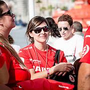 © Maria Muina I MAPFRE. Momentos previos a la salida de la etapa 1 Alicante a Lisboa. Previous moments of the start of leg 1 from Alicante to Lisbon.
