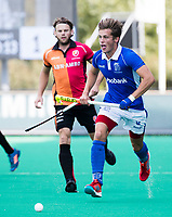 ROTTERDAM -  Casper Roelofs (Kampong) tijdens de wedstrijd om de derde plaats , Kampong- Oranje Rood , bij de ABN AMRO cup. COPYRIGHT KOEN SUYK