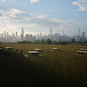 A view of Manhattan from Williamsburg, Brooklyn on Wednesday, June 10, 2020.