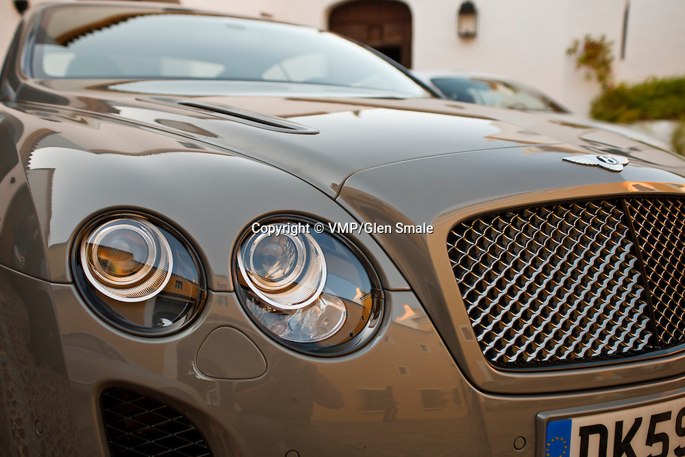 Bentley Continental Supersport (2009) at  Seville Launch, 21st and 23rd September 2009