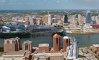 Covington Kentucky Cincinnati Ohio Skylines