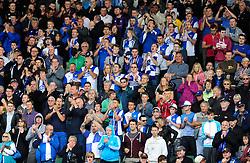 Bristol Rovers' fans  - Photo mandatory by-line: Dougie Allward/JMP - Tel: Mobile: 07966 386802 07/09/2013 - SPORT - FOOTBALL -  Home Park - Plymouth - Plymouth Argyle V Bristol Rovers - Sky Bet League Two