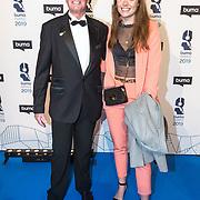 NLD/Hilversum/20190311  - Uitreiking Buma Awards 2019, Ferdi Bolland met zijn dochter