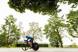 September 18, 2017 - Bergen, NORWAY - 170918 Alessia Vigilia of Italy competes during the Women Junior Individual Time Trial on September 18, 2017 in Bergen..Photo: Vegard Wivestad GrÂ¿tt / BILDBYRN / kod VG / 170014 (Credit Image: © Vegard Wivestad Gr¯Tt/Bildbyran via ZUMA Wire)