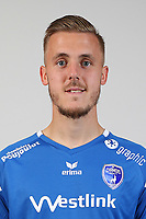 Thibaut Vion during Photoshooting of Niort for new season 2017/2018 on September 12, 2017 in Niort, France. <br /> Photo : CNFC / Icon Sport
