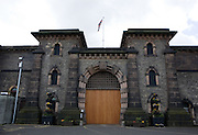 The main gate. HMP Wandsworth, London, United Kingdom