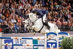 Zoer Albert, (NED), Gigolo<br /> Championship of Neumünster - Prize of Paul Schockemöhle Stud<br /> FEI World Cup Neumünster - VR Classics 2017<br /> © Hippo Foto - Stefan Lafrentz