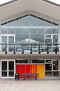 Murale Claude Vermette, Chalet du lac des castors<br /> <br /> Art Public, Parc du Mont-Royal, Montréal, Québec Canada