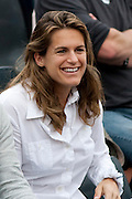 Roland Garros. Paris, France. 26 Mai 2010..Amelie MAURESMO..Roland Garros. Paris, France. May 26th 2010..Amelie MAURESMO..