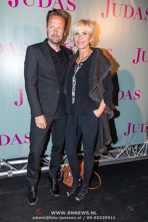 NLD/Amsterdam/20180920 - Premiere Judas, Anita Witzier en partner Michel Nillesen