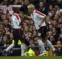 Fotball<br /> VM-kvalifisering<br /> 09.10.2004<br /> Foto: BPI/Digitalsport<br /> NORWAY ONLY<br /> <br /> England v Wales<br /> <br /> Alan Smith replaces Jermaine Defoe