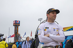 May 6, 2018 - Dover, Delaware, United States of America - Jamie McMurray (1) hangs out on pit road while under a red flag due to rain during the AAA 400 Drive for Autism at Dover International Speedway in Dover, Delaware. (Credit Image: © Justin R. Noe Asp Inc/ASP via ZUMA Wire)